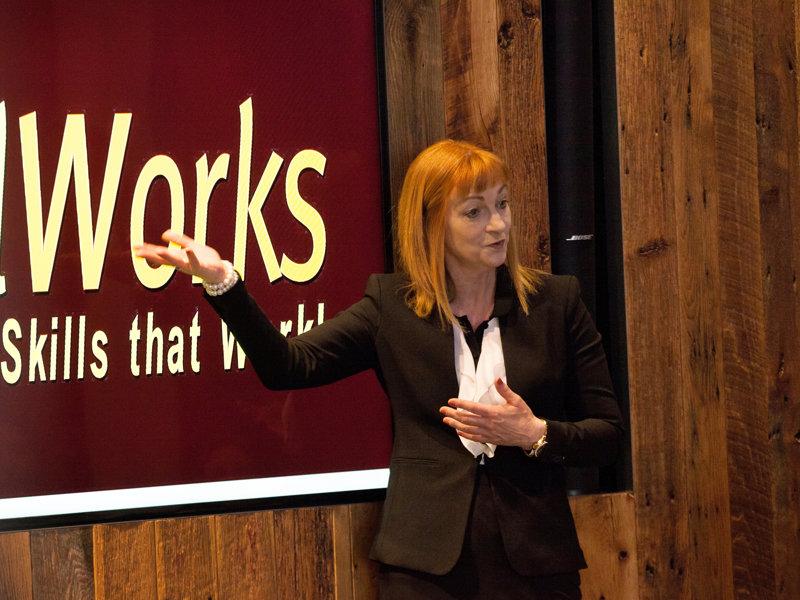 Laura Fitzsimons presentation skills